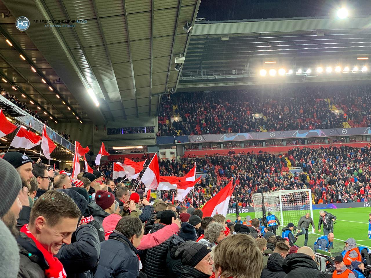 Liverpool-Bayern Februar 2019 - Foto: Hanns Gröner