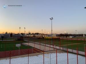 Bayern vor dem Spiel in Liverpool-Trainingsplatz (Foto: Hanns Gröner)