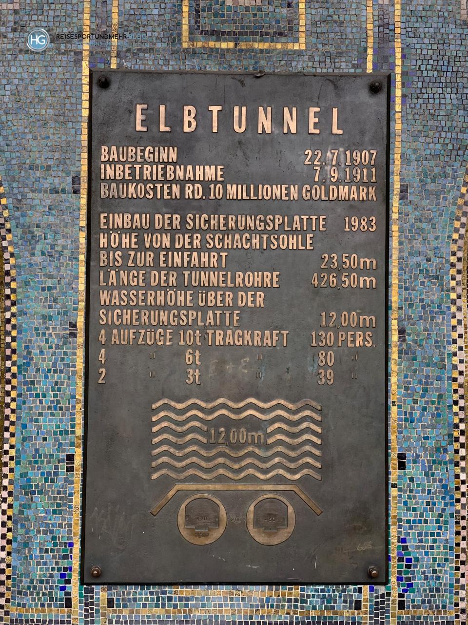 Hamburg - Alter Elbtunnel (Foto: Hanns Gröner)