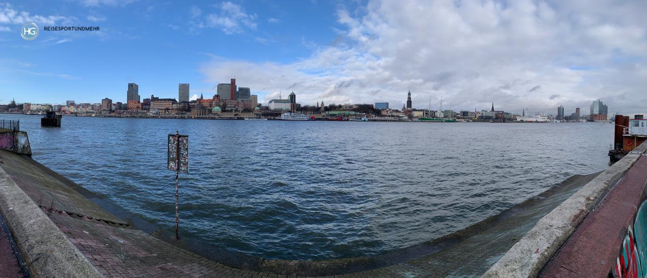 Hamburg - Blick von Steinwerder (Foto: Hanns Gröner)