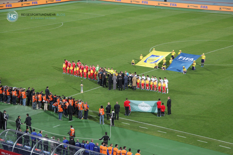 FIFA Klub WM Finale 2013 in Marrakesch 2013 (Foto: Hanns Gröner)