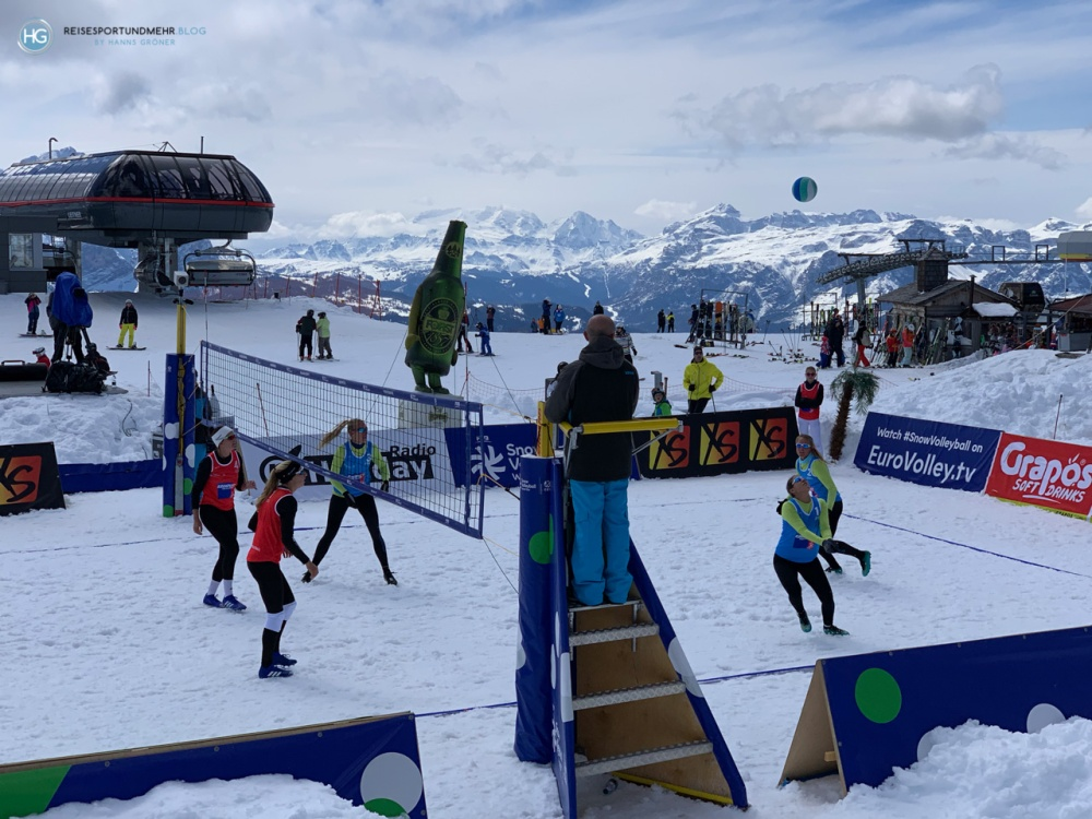 Snowvolleyball am Kronplatz 2019 (Foto: Hanns Gröner)