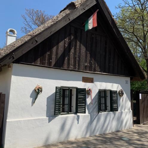 Kiskörös an Ostern 2019 - Petöfihaus (Foto: Hanns Gröner)