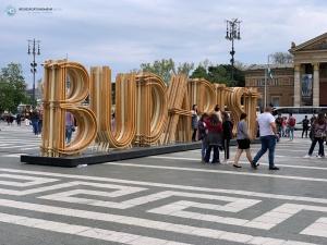 Budapest im April 2019 - Heldenplatz (Foto: Hanns Gröner)