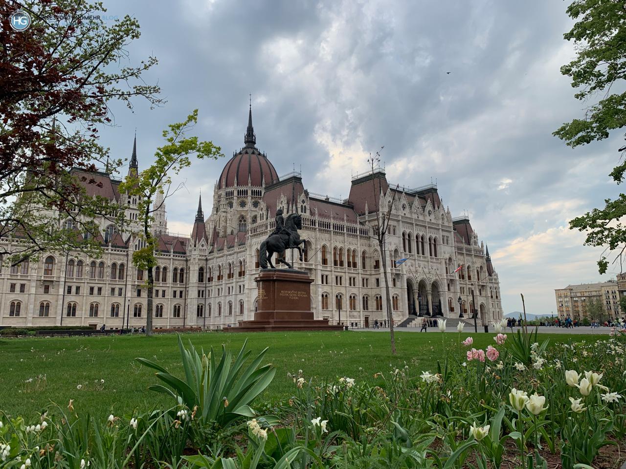 Budapest an Ostern 2019 - Parlament (Foto: Hanns Gröner)