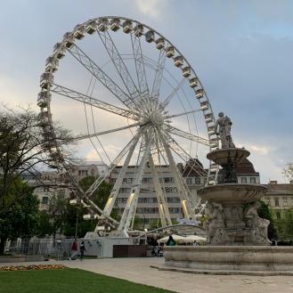 Budapest im April 2019 - Budapest Eye (Foto: Hanns Gröner)
