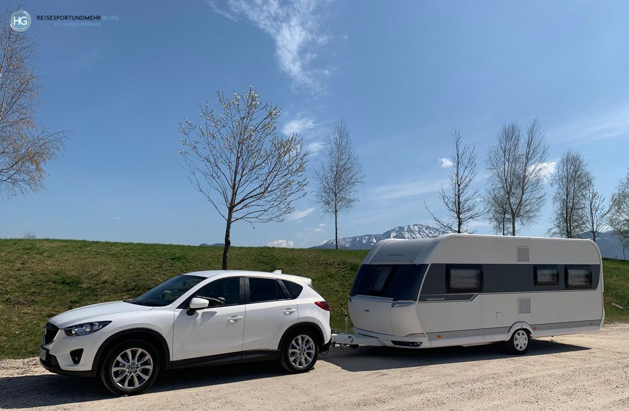 Unser neues Zugfahrzeug im April 2019 (Foto: Hanns Gröner)