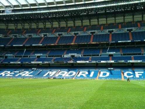 CL Finale Madrid 2010 - Bernabéu Stadion (Foto: Hanns Gröner)