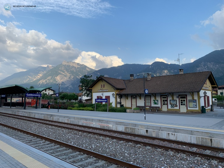 Caldonazzo 2019 - Bahnhof (Foto: Hanns Gröner)