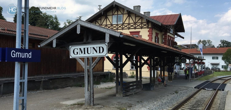 Bahnhof Gmund am Tegernsee 2018 (Foto: Hanns Gröner)