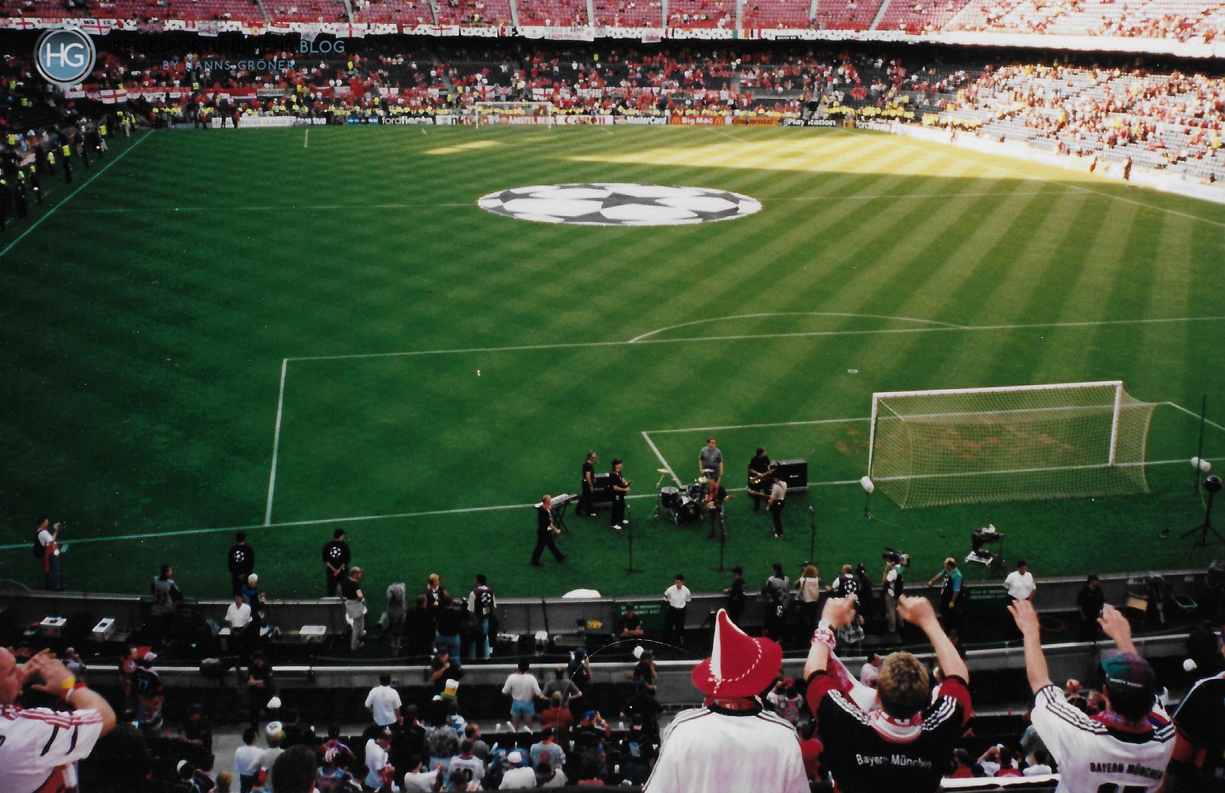 Barcelona 1999 - Champions League Finale FC Bayern - Manchester United (Foto: Hanns Gröner)