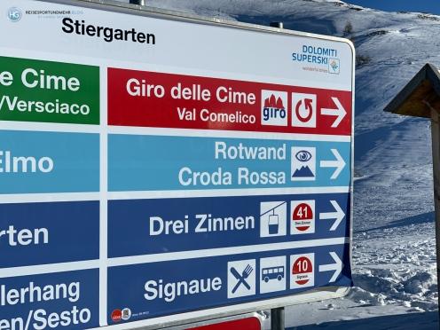 Skigebiet Drei Zinnen (Foto: Hanns Gröner)