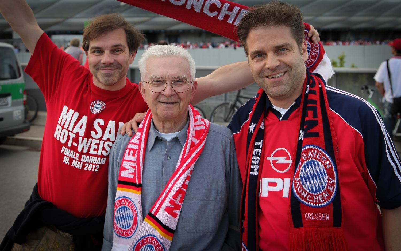 Vor dem Champions League Finale 2012 in München