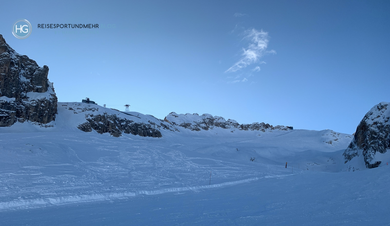 Dolomiten im Dezember 2019 - Marmolada (Foto: Hanns Gröner)