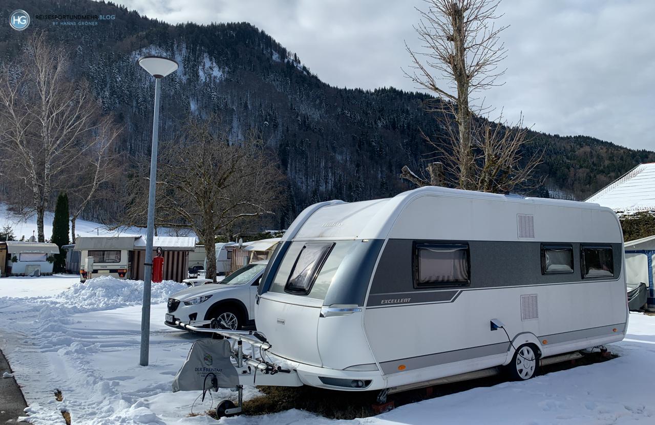 Wintercamping Weissach (Foto: Hanns Gröner)