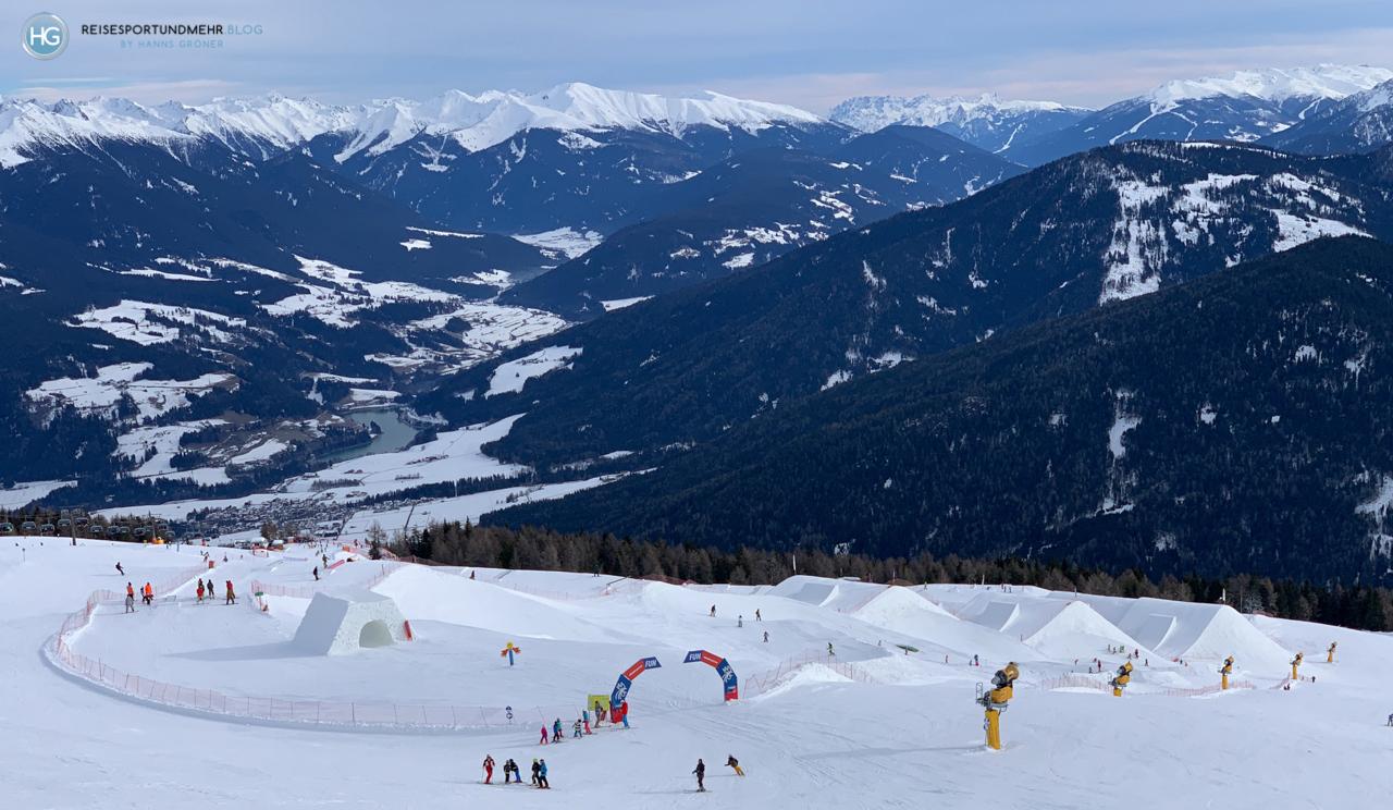 Dolomiten im Januar 2020 - Kronplatz (Foto: Hanns Gröner)