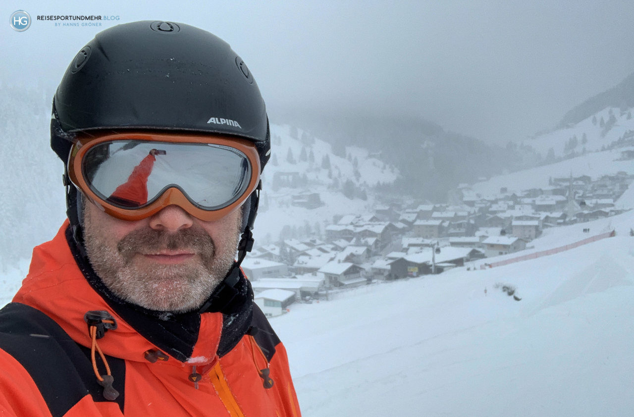 Zillertal im Januar 2020 - Lanersbach mit Eggalmbahn (Foto: Hanns Gröner)