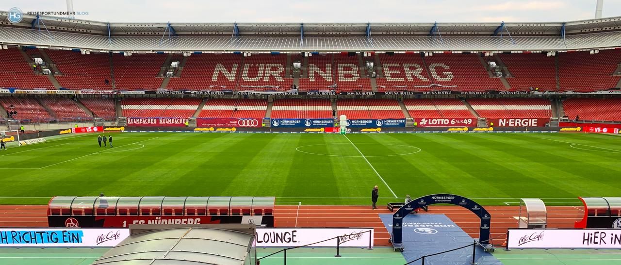 1. FCN - Schalke 04 im April 2019 (Foto: Hanns Gröner)