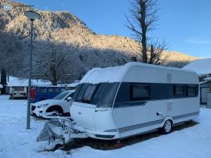 Wintercamping im März 2020 (Foto: Hanns Gröner)