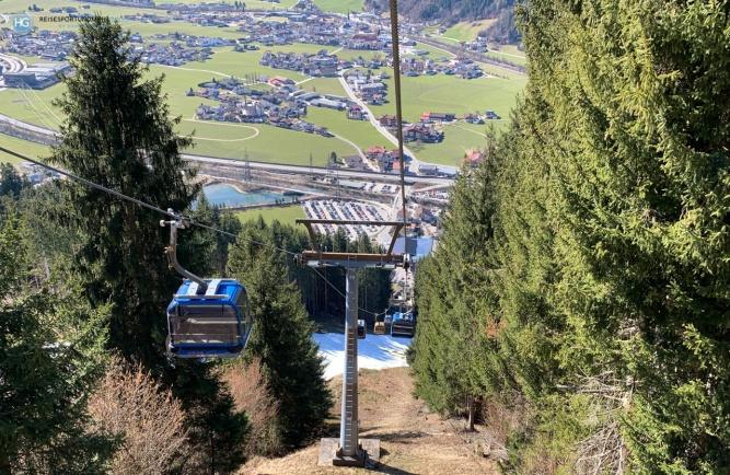Zillertal Arena im März 2020 (Foto: Hanns Gröner)