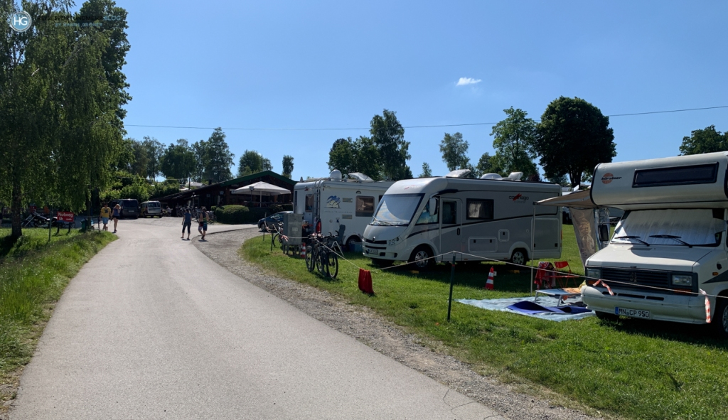 Campingplatz Brugger Riegsee (Foto: Hanns Gröner)