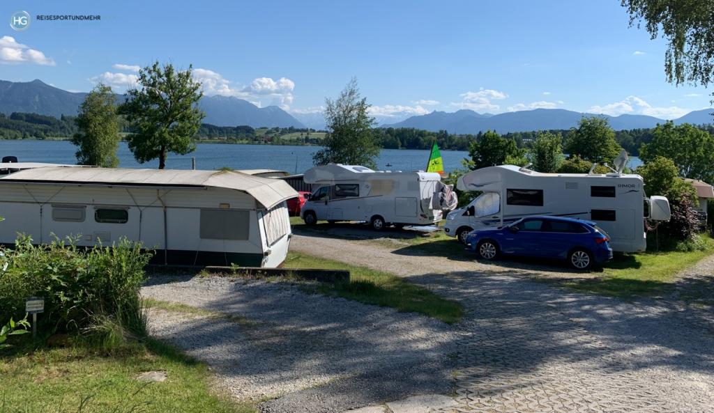 Campingplatz Riegsee (Foto: Hanns Gröner)