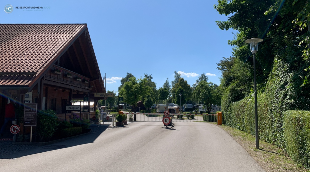 Campingplatz Chiemsee Camping Rödlgries (Foto: Hanns Gröner)