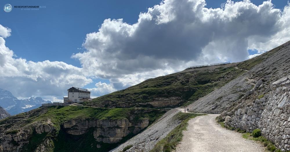 Auf dem Weg zu den Drei Zinnen 2020 - Auronzohütte (Foto: Hanns Gröner)
