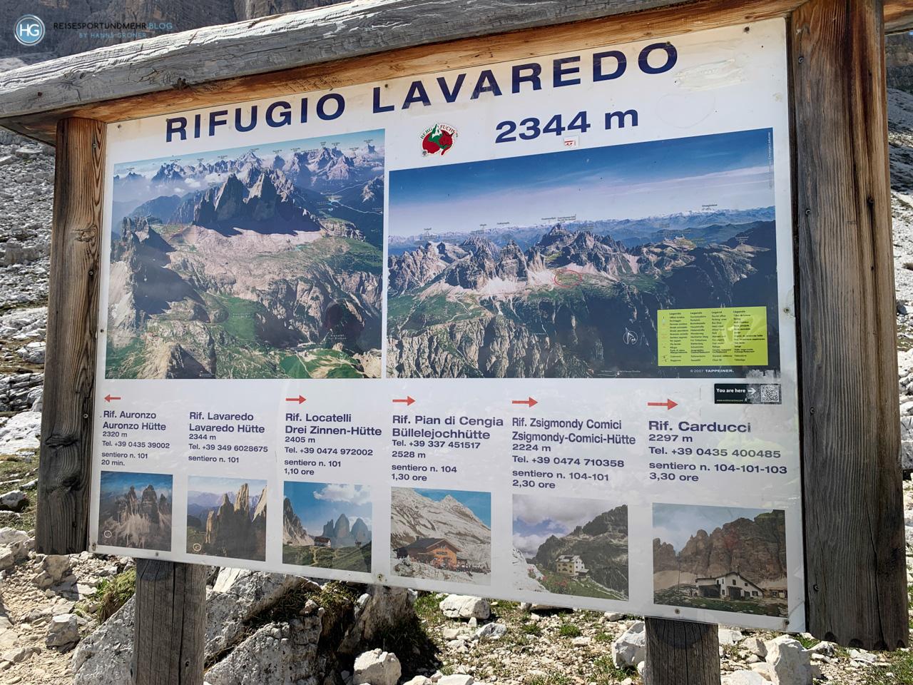 Drei Zinnen 2020 - Rifugio Lavaredo (Foto: Hanns Gröner)