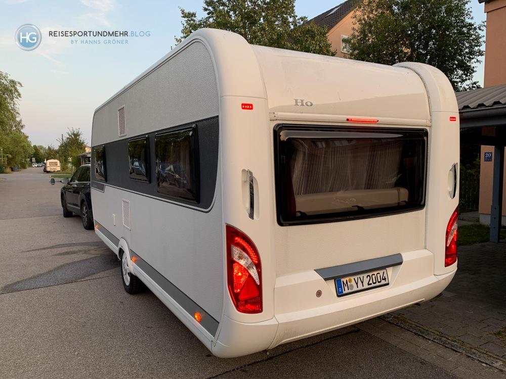 Hobby Wohnwagen 540 UL (Foto: Hanns Gröner)