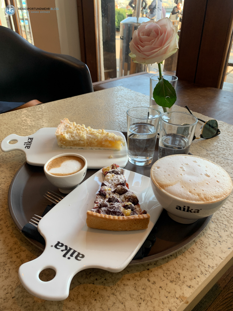 Bodensee Oktober 2020 - Café Aika in Friedrichshafen (Foto: Hanns Gröner)