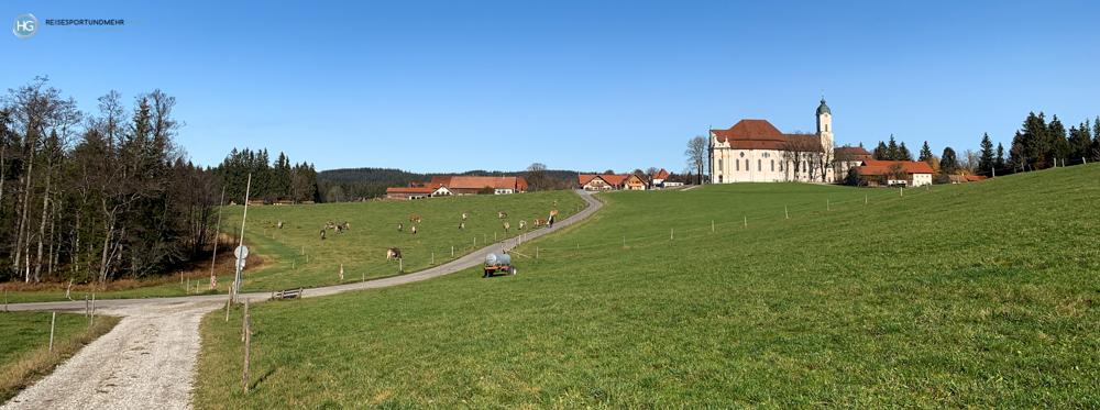 Wieskirche im November 2020 (Foto: Hanns Gröner)