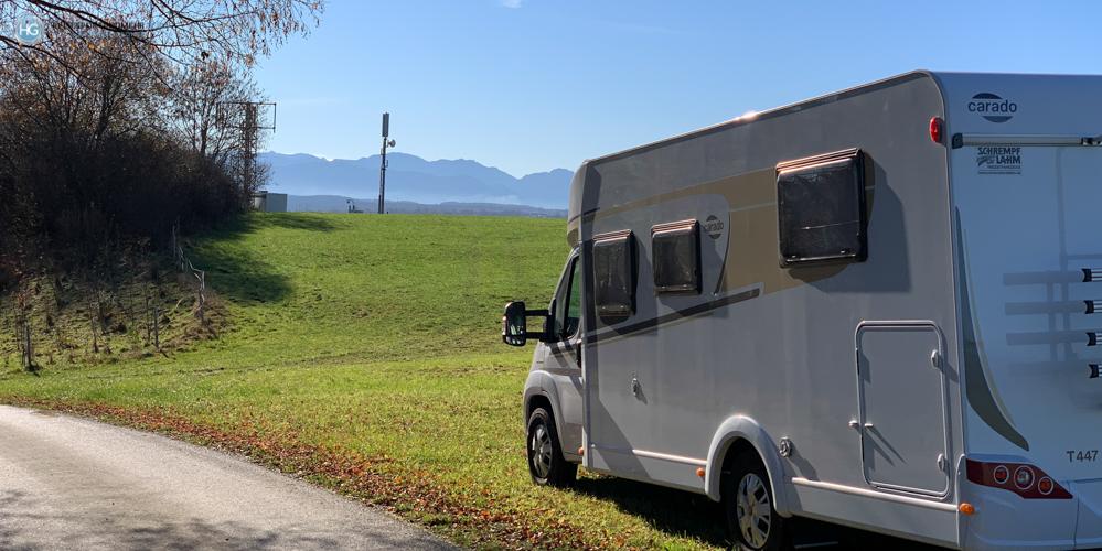 Auf dem Weg nach Hohenschwangau im November 2020 (Foto: Hanns Gröner)