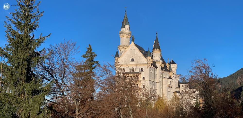 Schloss Neuschwanstein im November 2020 (Foto: Hanns Gröner)