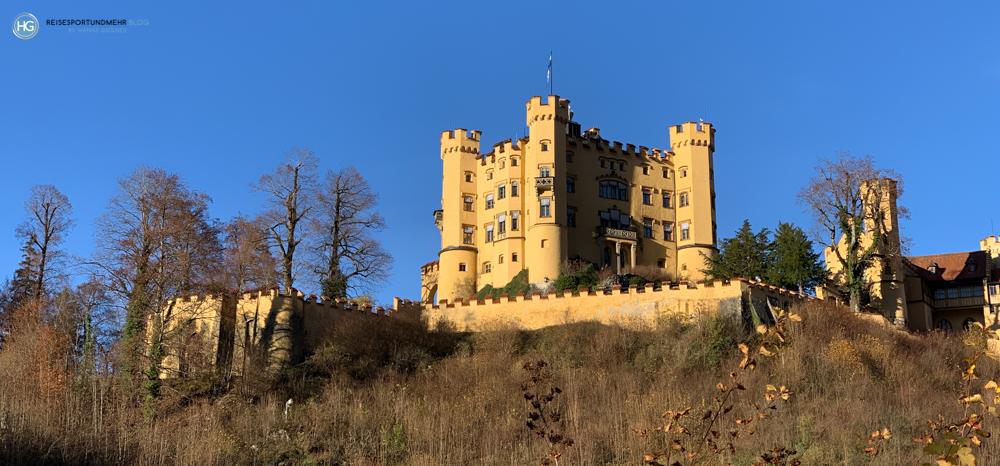 Schloss Hohenschwangau im November 2020 (Foto: Hanns Gröner)