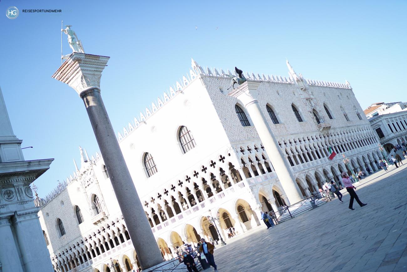 Venedig 2021 - der Dogenpalast (Foto: Hanns Gröner)