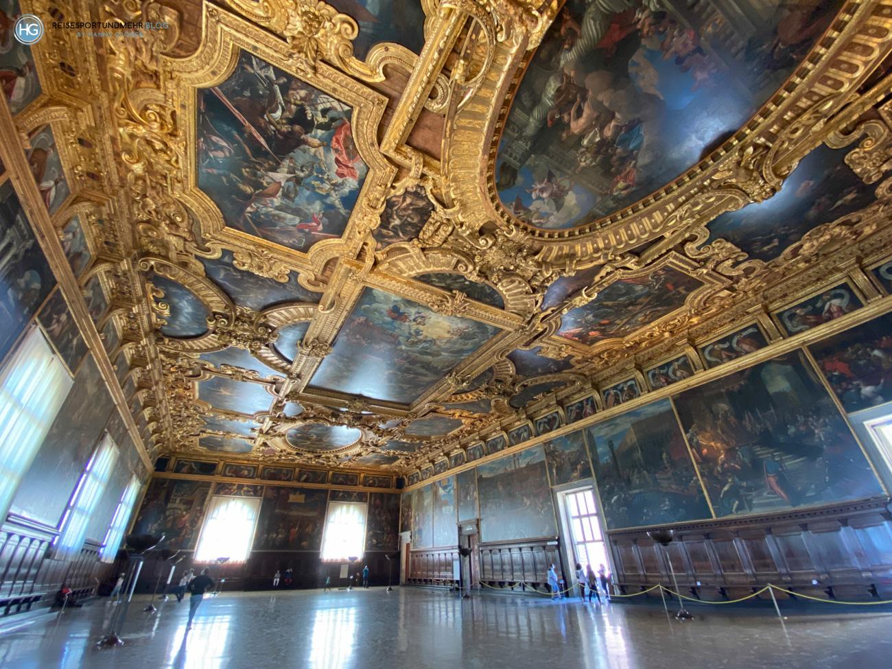 Im Dogenpalast - Venedig Pfingsten 2021 (Foto: Hanns Gröner)