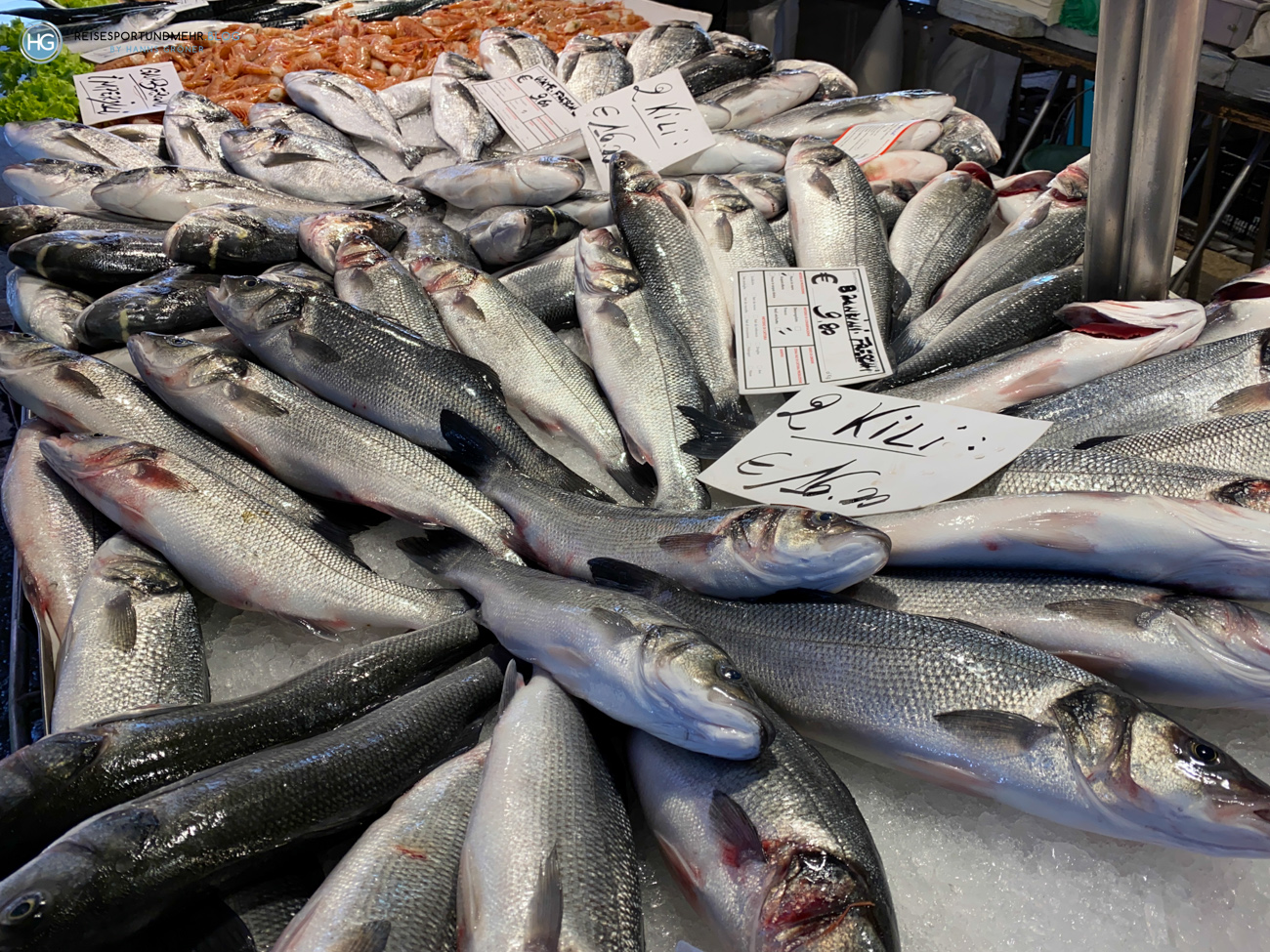 Venedig Pfingsten 2021 - Fischmarkt in Rialto (Foto: Hanns Gröner)