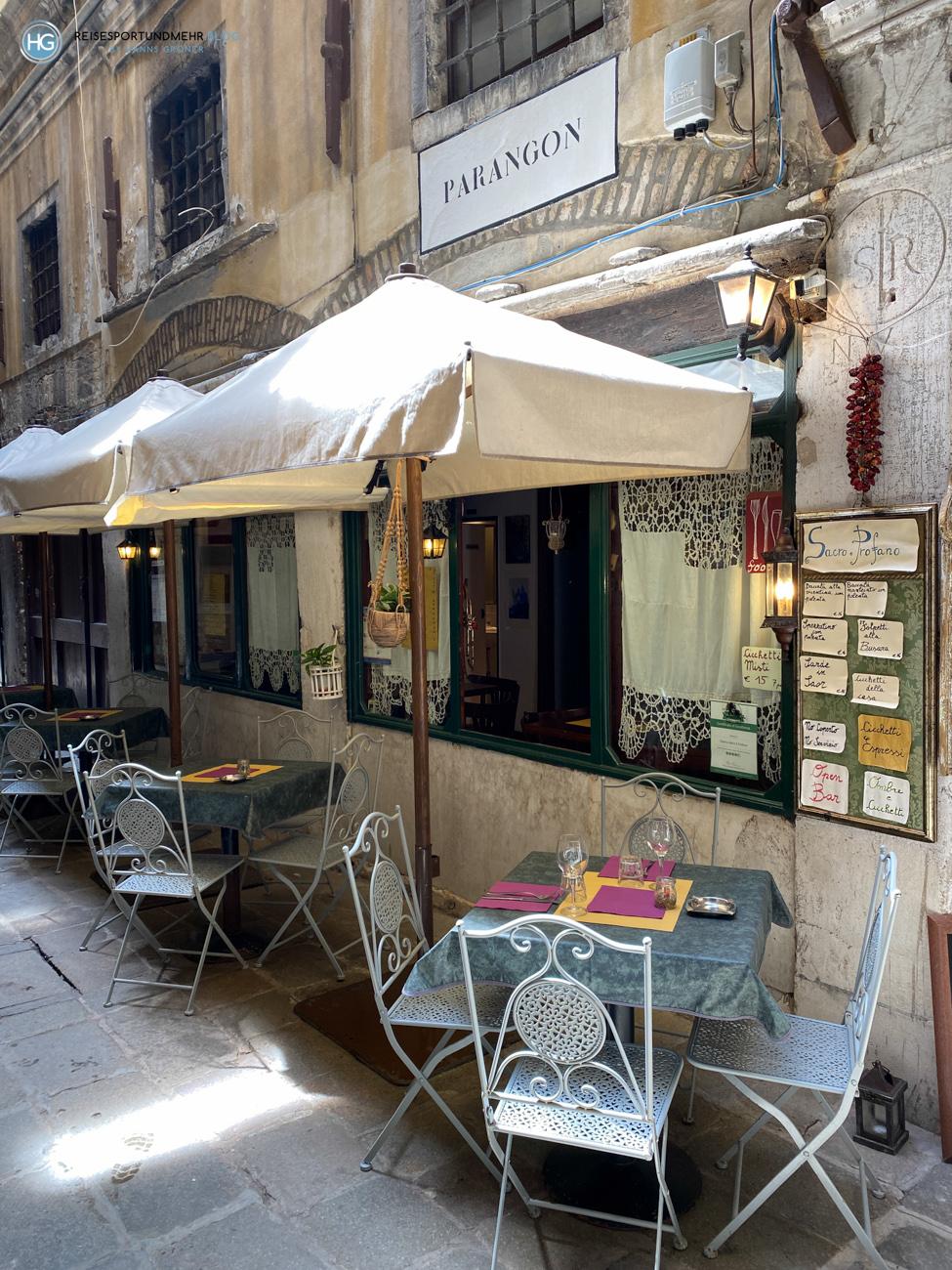 Venedig Pfingsten 2021 - Bar nahe Rialto Foto: Hanns Gröner)