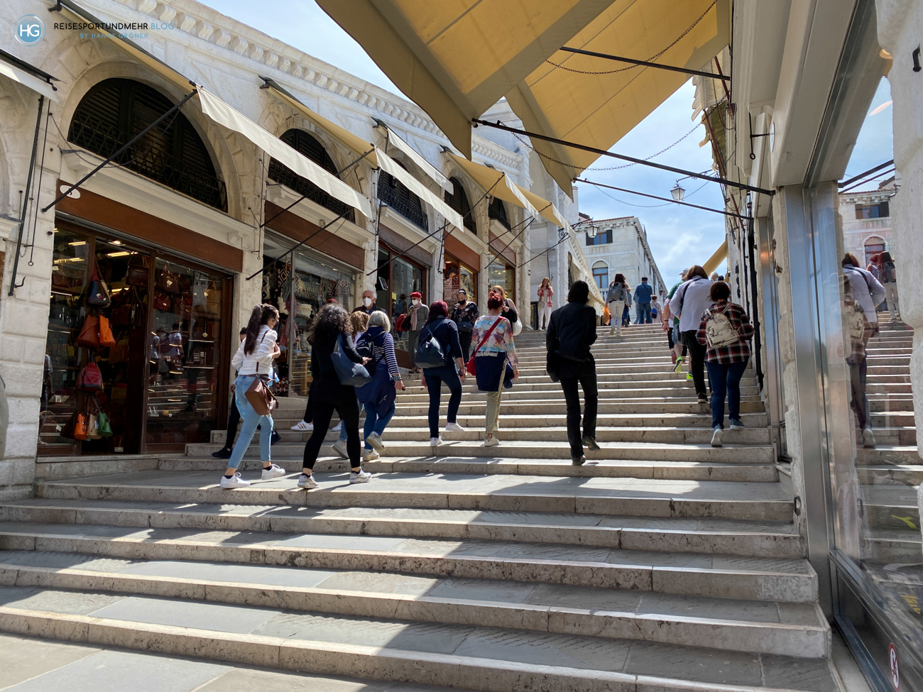 Venedig Pfingsten 2021 - Rialtobrücke (Foto: Hanns Gröner)