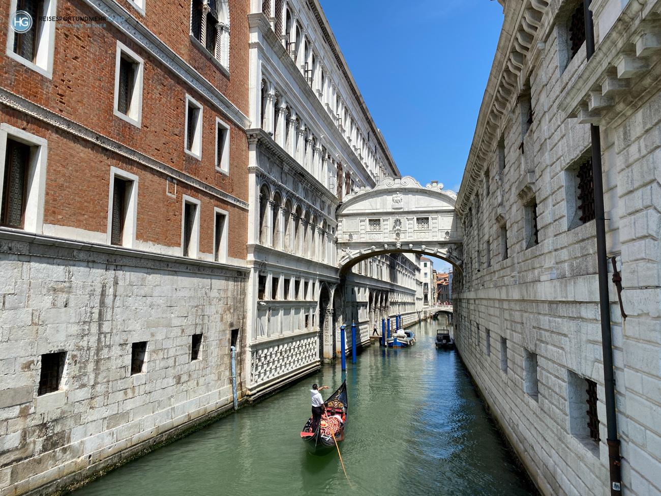 Seufzerbrücke - Venedig Pfingsten 2021 (Foto: Hanns Gröner)
