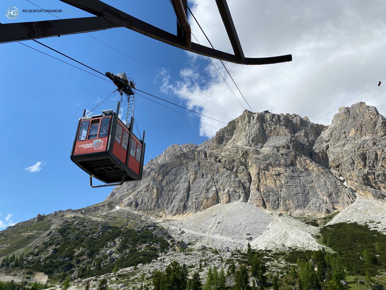 Südtirol im Juni Lagazuoi Falzarego (Foto: Hanns Gröner)