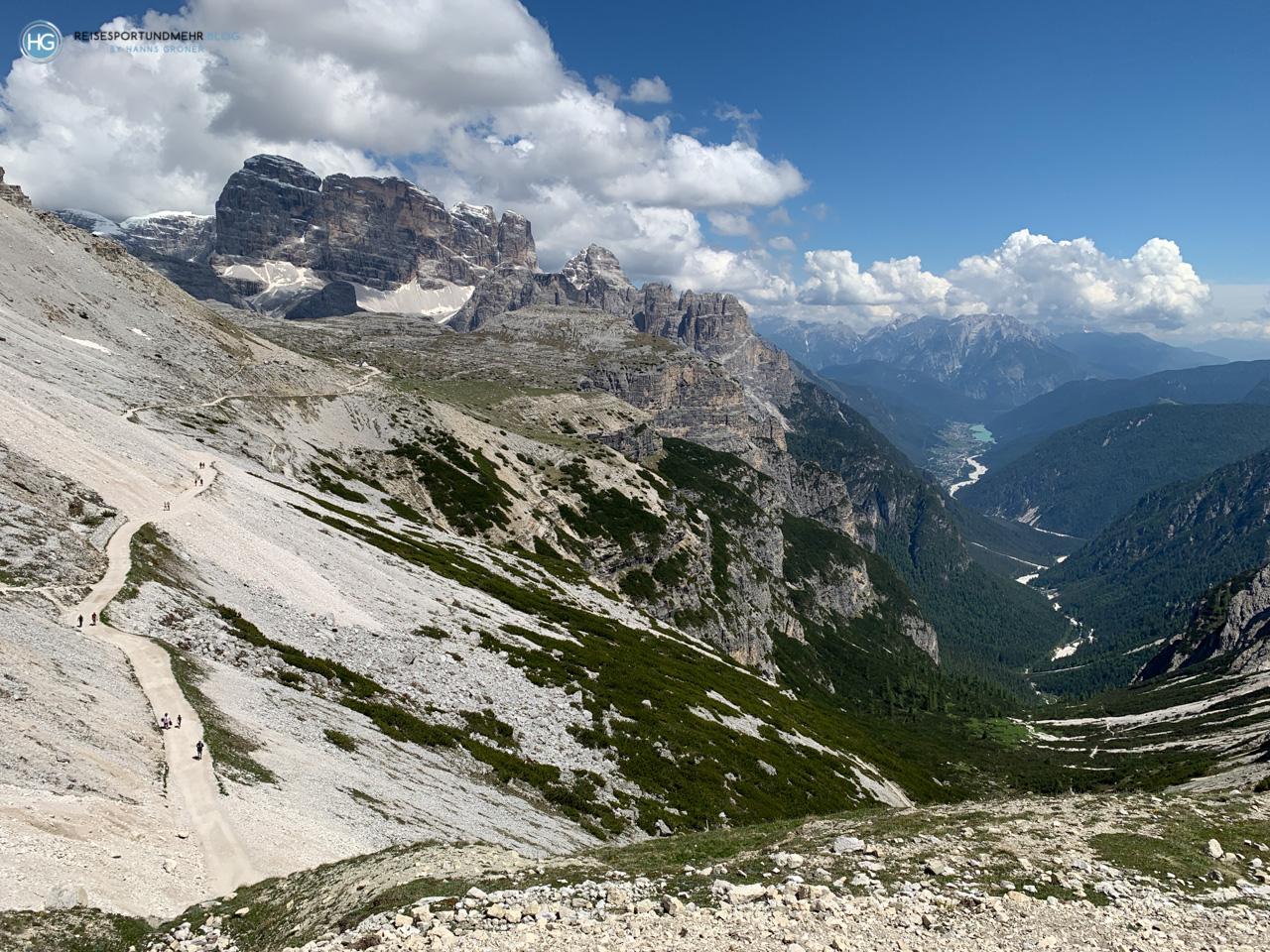 Dolomiten 2020 - Drei Zinnen - Rifugio Auronzo (Foto: Hanns Gröner)
